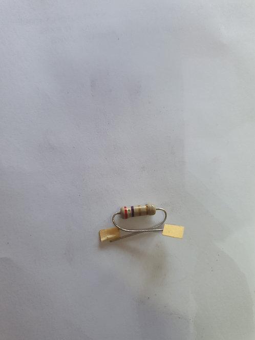 Resistencia 4.7 ohms 1 watt
