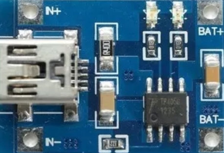 Mini cargadot mini usb de baterias lipo tipo TP4056 1A