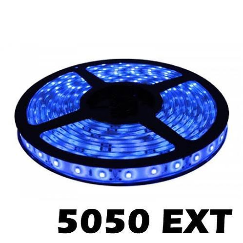 Tira de led azul 5050 para exterior
