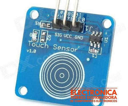 Modulo sensor de tacto capacitivo doble lado