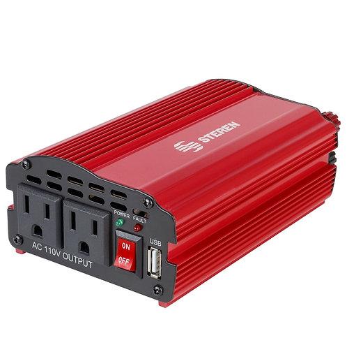 Inversor de corriente automotriz de 400watts 12v a 110v
