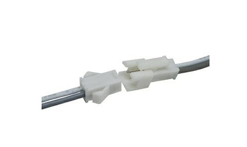 Connector 2p/clip01 uso interior hembra-macho hembra 2 pines 20cm