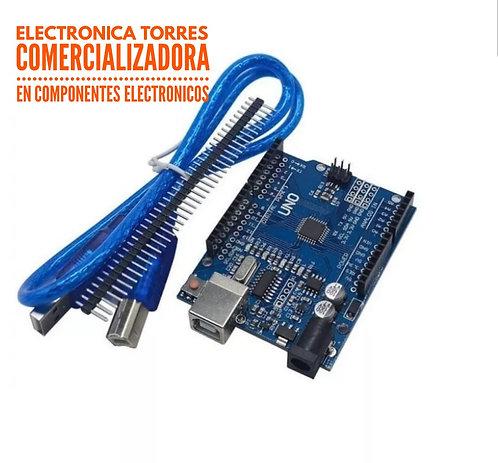 Arduino uno SMD con cable