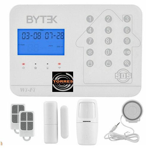 Alarma byteck wifi y gsm