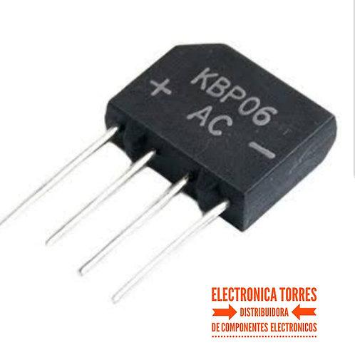 Puente de diodo 4 amp 400v KBL-4/200