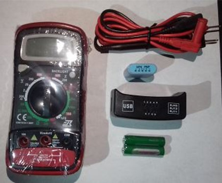 Multimwtro digital /probador de redes /usb