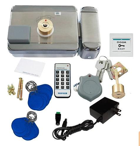 Kit de chapa electromagneyica 3 llaveros y 3 llaves.