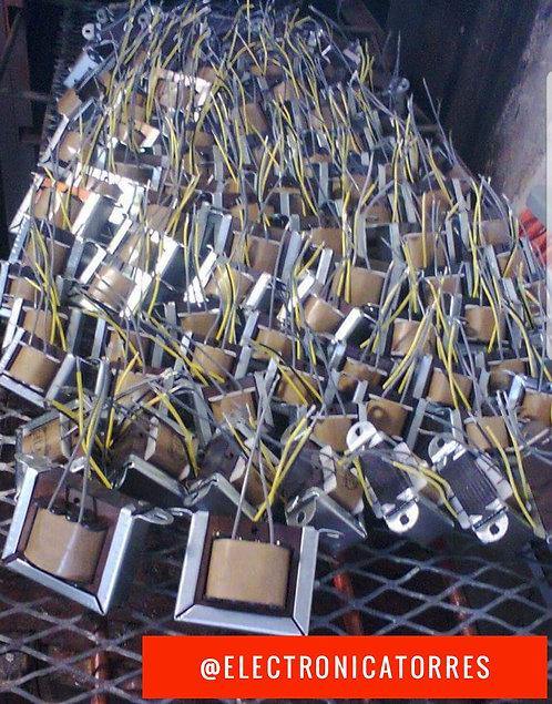 Transformador 6v 1 amp AC entrada:115v