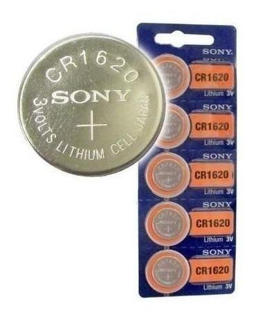 Bateria de boton cr1620 3v