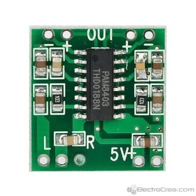 Modulo de audio pam8403 2x 3watt