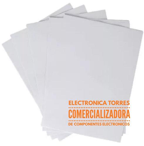 Hoja transfer para impreso (3 piezas)