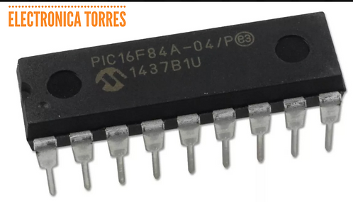 Microcontrolador Microchip Pic16f84A