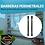 Thumbnail: Detector de Rayo Fotoeléctrico / Tipo Cortina / 6 rayos / 1.08 mts de Alto / 10