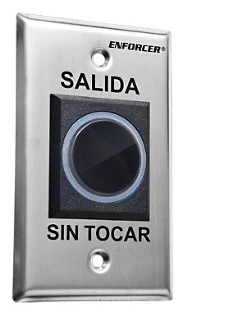 Botón sin contacto iluminado normalmente abierto y cerrado