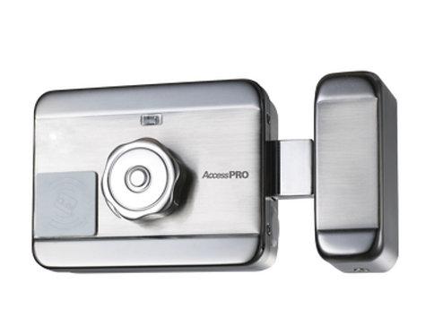 Cerradura Eléctrica Motorizada/ Con lector de Tarjetas de Prox (EM 125Khz) Incl