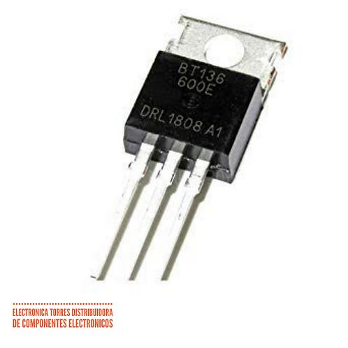 Triac BT136-600 4 Amp 600v