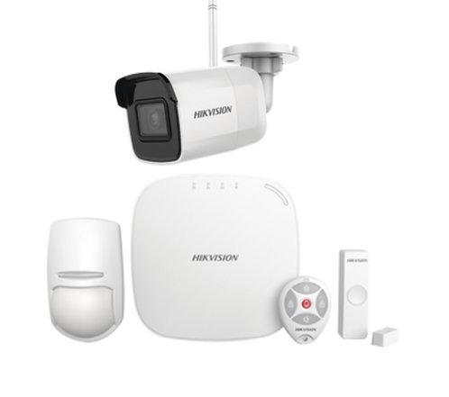 KIT para Panel de Alarma / Incluye: 1 Hub /1 CAMARA IP/ 1 Sensor PIR / 1 Contac