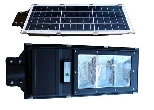 Lampara con panel solar exterior 60w