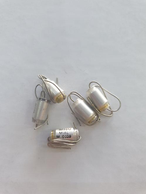 Capacitor estiroflex .0039-250v (3.9nf)
