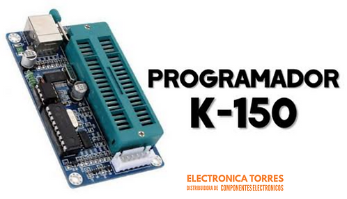 Programador PIC K150 con cable usb