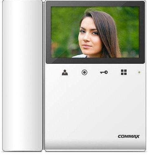COMMAX CDV43K2 - Monitor para videoportero a color de 4.3 pulgadas con funcion