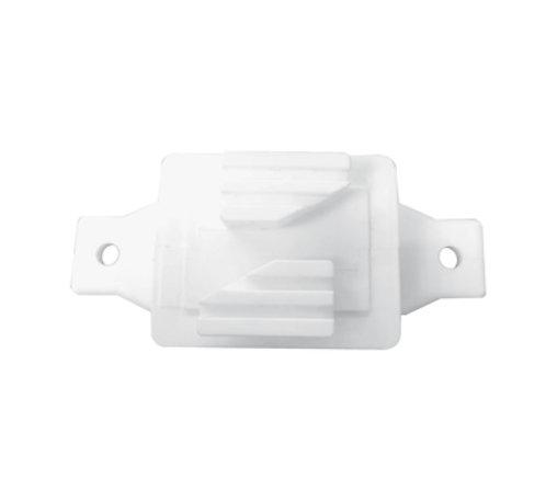 Aislador de paso blanco (bolsa de 50 piezas)
