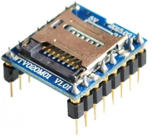 Modulo reproductor MV020 con micro Sd
