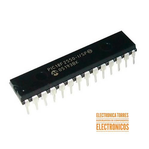 Microcontrolador Microchip Pic18f2550