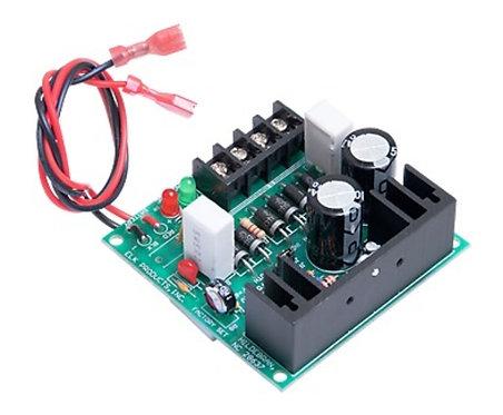 Fuente de poder 6VCD, 12VCD y 24VCD con respaldo qde batería.