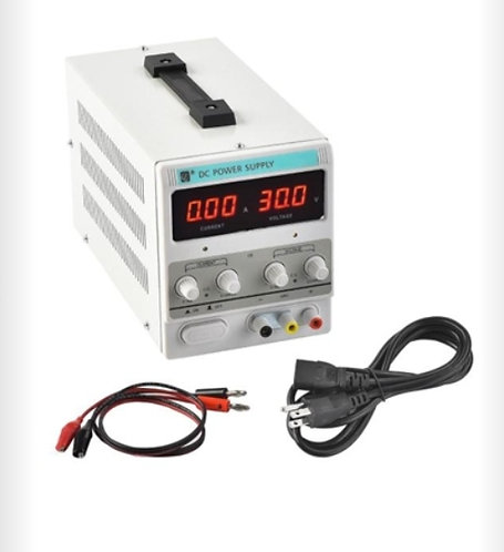 Fuente de alimentacion variable  30v 5 amp