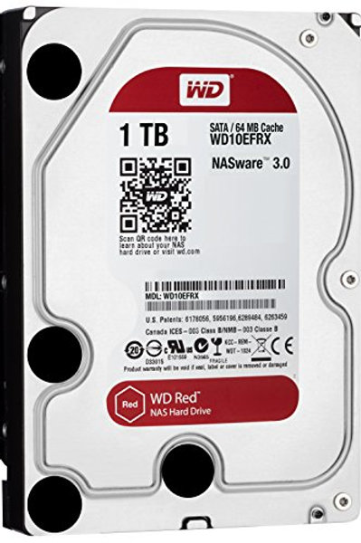 """HDD 1TB WD 3.5"""" WD10EFRX SATA3 INTELLIPOWER 64MB RED"""