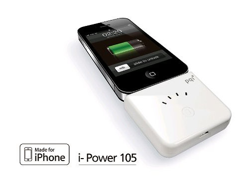PQI I-POWER 105 IPHONE EXTERNAL BATTERY CHARGER