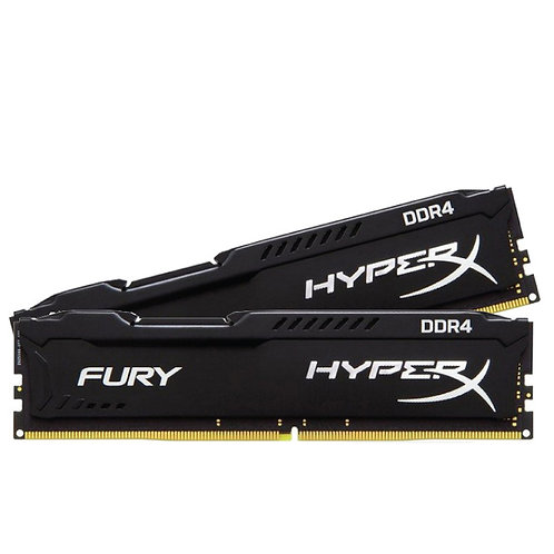 DDR4-2400 8G KIT KINGSTON HX424C15FBK2/8 HYPERX FURY CL15 NON ECC