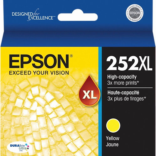 EPSON 252XL YELLOW INK CARTRIDGE T252XL420