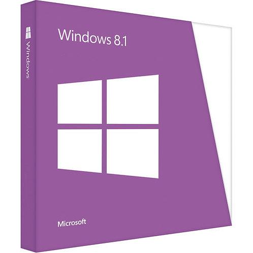 MS W8.1 HOME 64BIT 1PK DSP OEM DVD WN7-00615