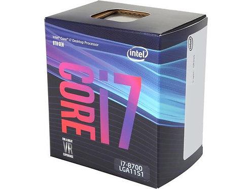 INTEL CI7-8700 BX80684I78700 3.2/4.6GHZ 12M 65W L1151 BOX CPU