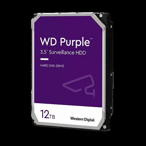 """HDD 12TB WD 3.5"""" WD121PURZ 7200RPM SATA6 256MB PURPLE HD"""