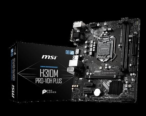 MSI H310M PRO-VDH PLUS L1151 32GB DDR4 HDMI mATX MB