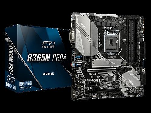 ASROCK B365M PRO4 INTEL B365 L1151 SATA3 6Gb/s M.2 USB 3.1 MB