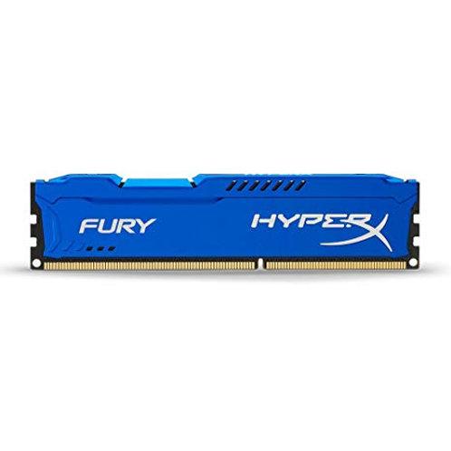 DDR3-1600 4G KINGSTON #HX316C10F/4 FURY BLUE CL10 1.5V
