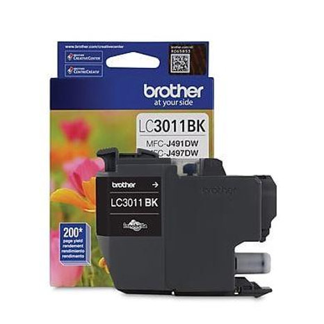 BROTHER LC-3011 BLACK INK CARTRIDGE (LC3011BKS)