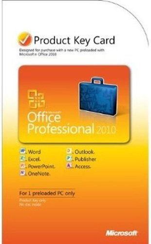MS OFFICE 2010 PRO PKC #269-14834
