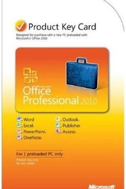 MS OFFICE 2010 PRO PKC #269-14834