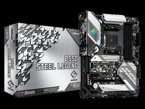 ASROCK B550 STEEL LEGEND AMD B550 AM4 SATA6Gb/s USB 3.2 ATX MB