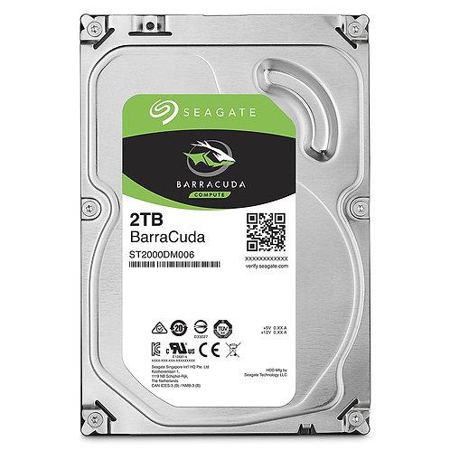 """HDD 2TB SEAGATE 3.5"""" ST2000DM006 SATA 7200RPM 6GB/S BARE DRIVE"""