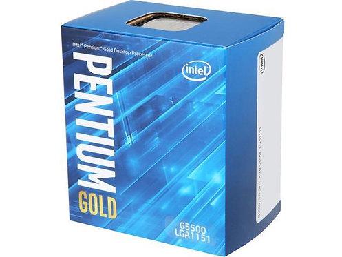 INTEL G5500 PENTIUM GOLD DUAL CORE 3.8GHz 4MB L1151 BX80684G5500