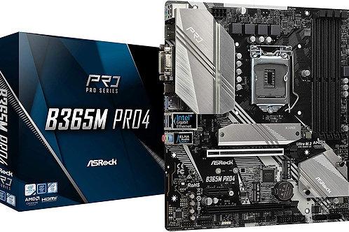ASROCK B365 PRO4 INTEL B365 L1151 SATA3 M.2 USB 3.1 MB