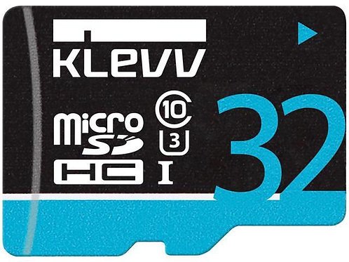 MICRO SDHC 32G KLEVV U032GUC3U14-B C10 UHS-I U3 PREMIUM