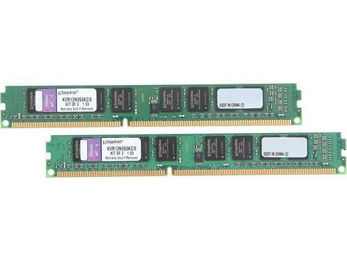 DDR3-1333 8G KIT KINGSTON #KVR13N9S8K2/8