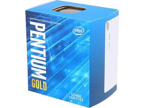 INTEL G5400 PENTIUM GOLD DUAL CORE 3.7GHz 4MB L1151 BX80684G5400 BOX CPU